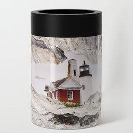 Lighthouse reflection Can Cooler