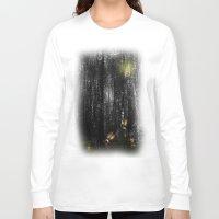 rabbits Long Sleeve T-shirts featuring Rabbits by Digital-Art