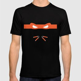 Orange Ninja Turtles Michelangelo T-shirt