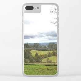 Country Gate Clear iPhone Case