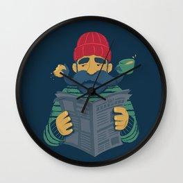 Oh Captain Wall Clock