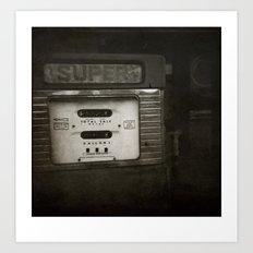 { super } Art Print