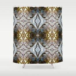 Pattern 38 - Ice Shower Curtain