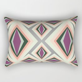 Contemporary Geometric Design Rectangular Pillow