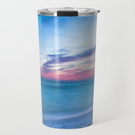 If By Sea - Sunset and Emerald Waters Near Destin Florida Travel Mug
