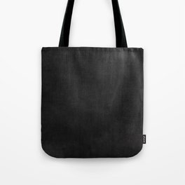 Simple Chalkboard background- black - Autum World Tote Bag