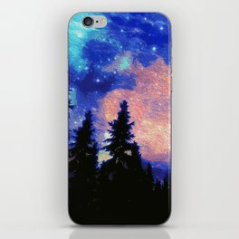The Galaxy Above Us iPhone Skin