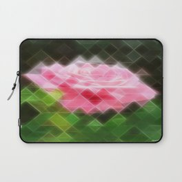 Pink Roses in Anzures 3 Art Triangles 2 Laptop Sleeve