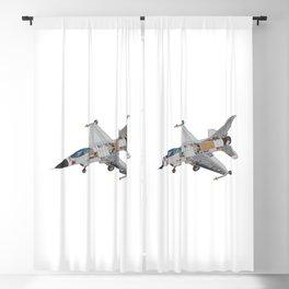 F-16 Military Fighter Jet Internal Mechanics Blackout Curtain