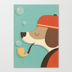A Dog's Life Canvas Print