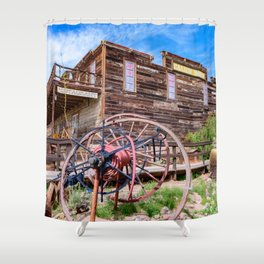 Calico Ghost Town - 7180, California Shower Curtain