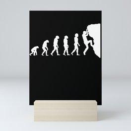 Development Into A Free Climber Mini Art Print