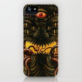 LovecrafTiki iPhone Case