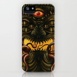 LovecrafTiki iPhone Case