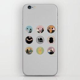 SANA BAKKOUSH: A MINIMALIST STORY iPhone Skin