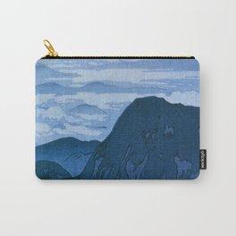 12,000pixel-500dpi - Yoshida Hiroshi - Japan Alps 12, Eboshidake Morning Sun - Digital Remaster Carry-All Pouch