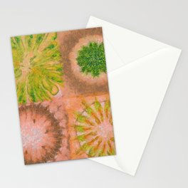 Murdering Nature Flowers  ID:16165-102100-72860 Stationery Cards