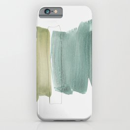 minimalism 5 iPhone Case