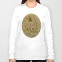 dahlia Long Sleeve T-shirts featuring Dahlia by Wealie