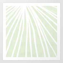 Dandelions in Mint by Friztin Art Print