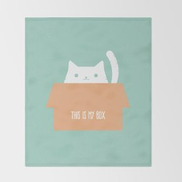 This is My Box Throw Blanket