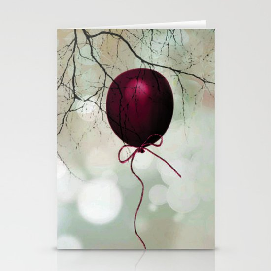 Fly balloon  Stationery Cards