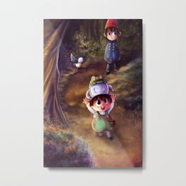 Over the Garden Wall Metal Print