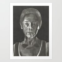 melissa smith Art Prints featuring Melissa McBride by Tammy McCutcheon Art