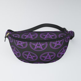 Purple Pentacle Witch Goth Fanny Pack