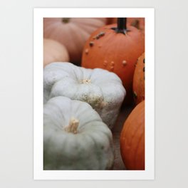 Hello Pumpkin Season !! Art Print