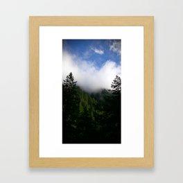 (#143) Cloud Scraping Framed Art Print