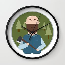 forester Wall Clock
