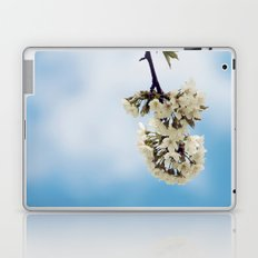 White & Blue Laptop & iPad Skin