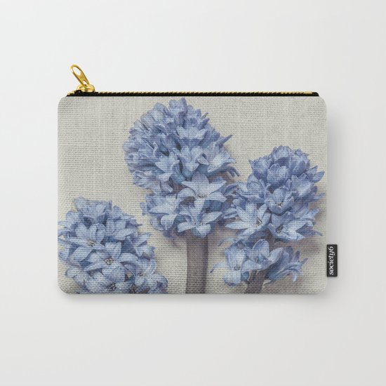 Light Blue Hyacinths Carry-All Pouch