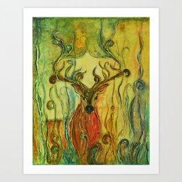 Whimsies 4 Art Print