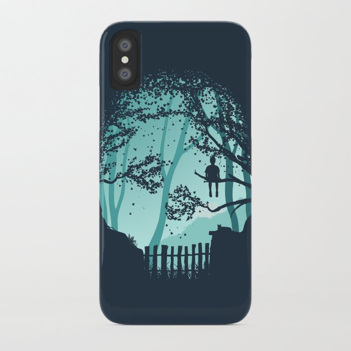 Don't Look Back In Anger iPhone Case