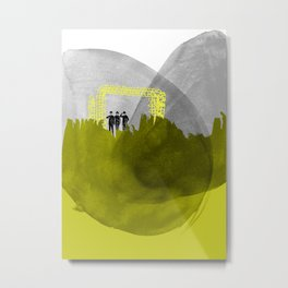 little gods waiting for the end of the world Metal Print