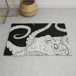 Giant Pacific Octopus Rug