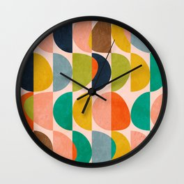 shapes abstract II Wall Clock
