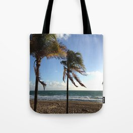 Palms Ft Lauderdale Beach Tote Bag