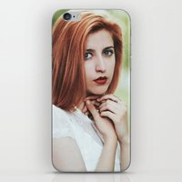 ginger iPhone & iPod Skins featuring Ginger by Jovana Rikalo