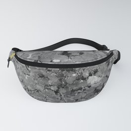 Berries in Black and White Fanny Pack