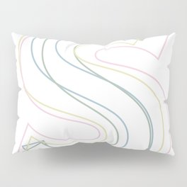Intertwined Strength and Elegance of the Letter S Pillow Sham
