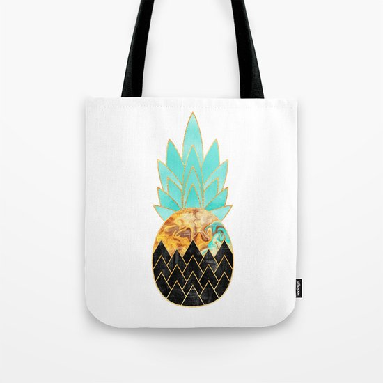 Precious Pineapple 3 Tote Bag