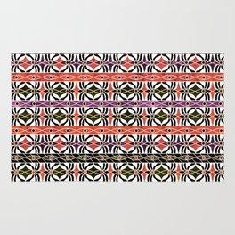 Ethnic striped pattern. Rug