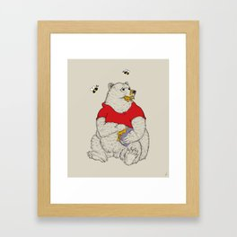 Silly ol' Bear Framed Art Print
