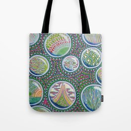 Many Worlds Tote Bag