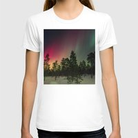 northern lights T-shirts featuring Northern Lights  by Limitless Design