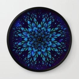 Sky flower Wall Clock