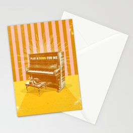 PLAY A SONG FOR ME Stationery Cards